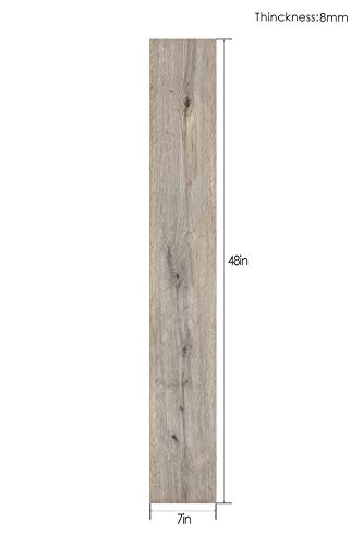 Major-Q Home Furnishing Versa 10pc Pack of WPC Waterproof Uni-Click Luxury Vinyl Plank 7
