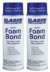 Gladon Spray Adhesive 17-Ounce Can (2) (Foam Spray Wall)