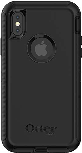 OtterBox Defender Series Case for iPhone Xs & iPhone X (Case Only - Holster Not Included) Black