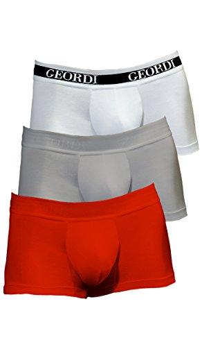 Diane & Geordi 5170 Men Underwear Low Rise Boxer Trunk | Ropa Interior de Hombre at Amazon Mens Clothing store: