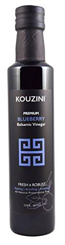 Kouzini Ultra Premium Blueberry Balsamic Vinegar (250ML Bottle) (Vinegar Salad)