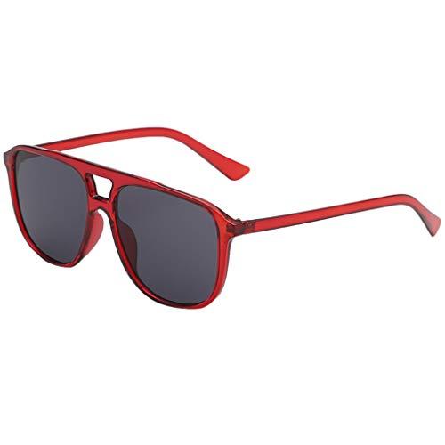 Tomppy Retro Square Sunglasses for Women UV Protection Tinted Lenses Eyewear Outdoor Sports Polarized Sun Glass (Eyewear Sunshades)