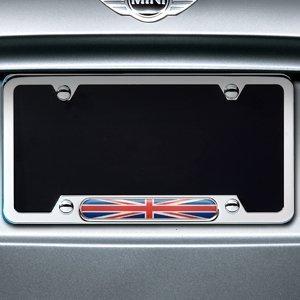Mini Cooper 82120306810 Polished License Plate Frame
