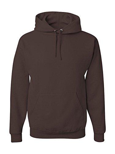 - Jerzees 8 oz. NuBlend 50/50 Pullover Hood, Chocolate - X-Large