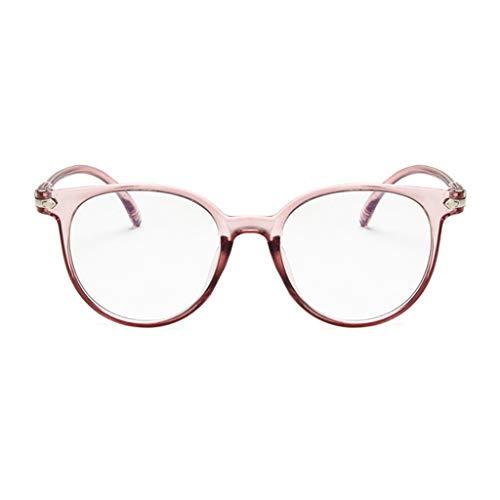 Unisex Blue Light Blocking Glasses Spectacle Optical Frame Anti-Radiation Eyeglasses Computer Game ()