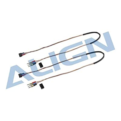 Yoton Accessories Align trex 150 Tail Motor Wire Set HEP15003 Trex 150 Spare Parts with Tracking: Toys & Games