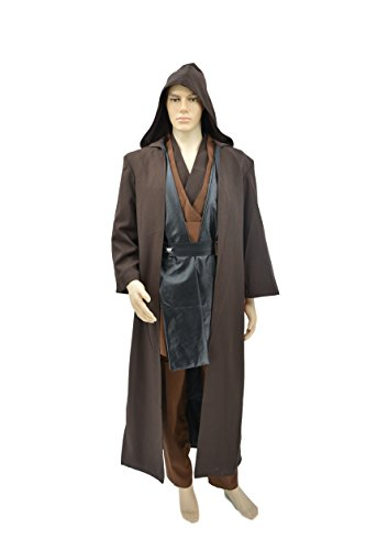 hideaway Star Wars Adult Deluxe Anakin Skywalker Costume [ Size : M, L, XL ] Cosplay (XL) by hideaway (Image #2)