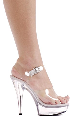 [Brook Adult Shoes - Size 7] (Sexy Cinderella Outfit)