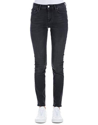 ACNE STUDIOS Femme 30D176156 Noir Coton Jeans