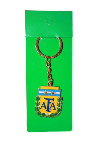 - Argentina AFA Logo FIFA Soccer World Cup Keychain .. High Quality .. New