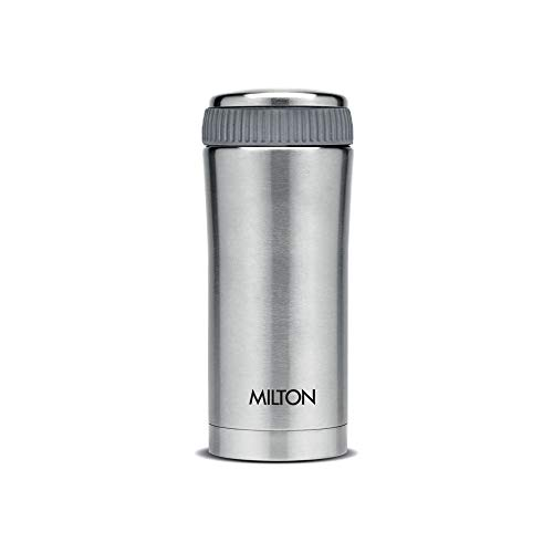Milton Optima 350 Thermosteel Hot and Cold Flask, 350 ml, Silver Price & Reviews