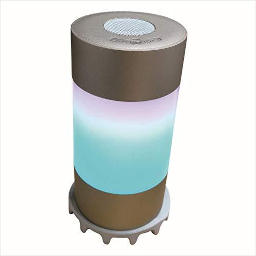 ZLJXP Repellente Bocina Bluetooth Iluminación Inalámbrico LED Audio: Amazon.es: Deportes y aire libre