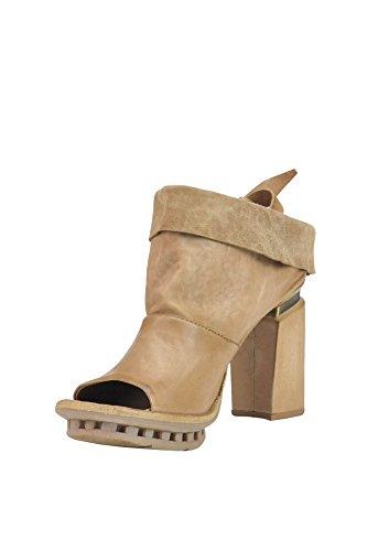 A.S.98 Sandalias de Vestir Para Mujer Beige Beige It - Marke Größe