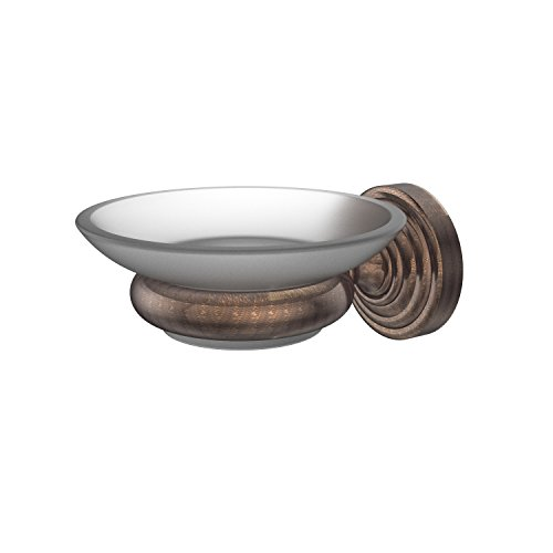 Allied Brass WP-62-VB Waverly Place Collection Wall Mounted Soap Dish Venetian Bronze