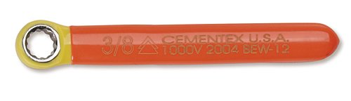 Cementex Bew-12 Insulated Box End Wrench 3/8 (Insulated Box End Wrench)
