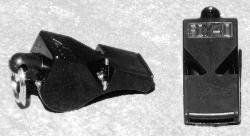 Tide-Rider 040 Fox 40 Plastic Whistle Black
