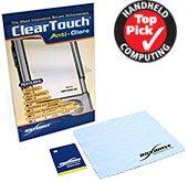 Cingular iPAQ h6325 Screen Protector, BoxWave [ClearTouch Anti-Glare] Anti-Fingerprint, Scratch Proof Matte Film Shield for Cingular iPAQ h6325, - Protectors Ipaq Screen