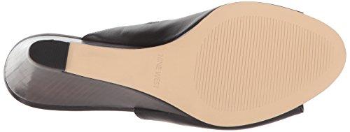 Black Nine Leather Janissah West Women's Sandal Slide RwXxa7fqw