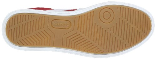 Kappa KOREA LOW 241637 Unisex-Erwachsene Sneaker Mehrfarbig (2010 RED/WHITE 2010 RED/WHITE)