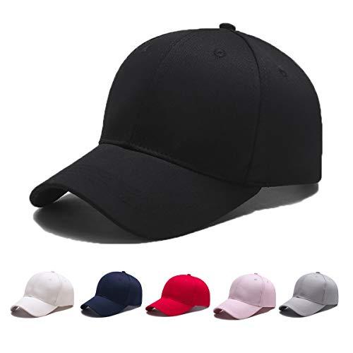 Ehpow Unisex Baseball Cap Classic Sports Hat Adjustable Plain Casual Sun Hats Dad Hat