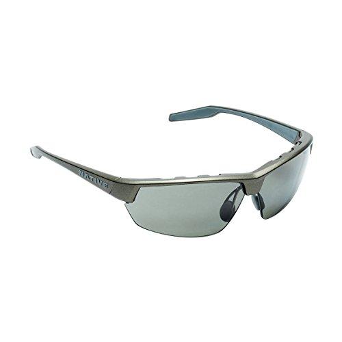 Native Eyewear Hardtop Ultra Polarized Sunglasses, Charcoal ()