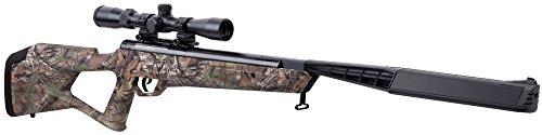 Crosman BTN2Q2CX Trail SBD Air Rifle, Camo, 0.22 Caliber