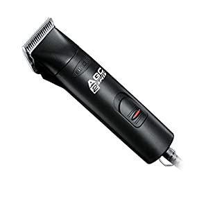 Andis ProClip 2-Speed Detachable Blade Clipper, Professional Animal Grooming, AGC2, Black (22340) 85