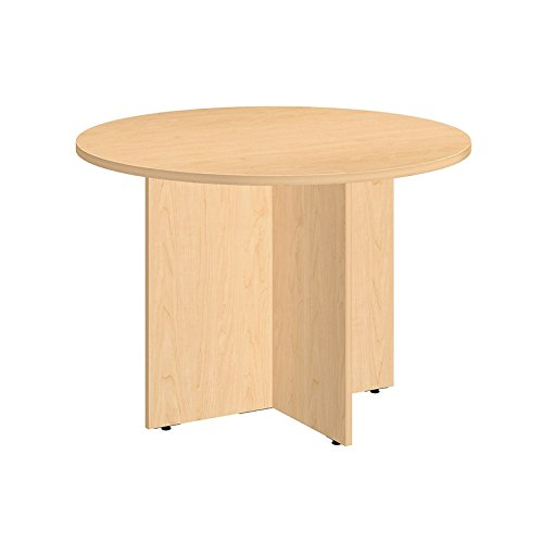 Scranton & Co 42W Round Conference Table in Natural Maple