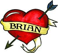 Brian Temporaray Tattoo