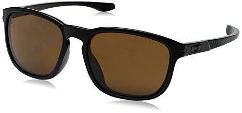 Oakley Men's Enduro OO9274-01 Oval Sunglasses, Matte Black, 55 - Enduro Sunglasses Oakley