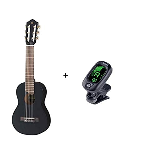 Pack de guitarra Yamaha GL1 + afinador + funda - acabado negro ...