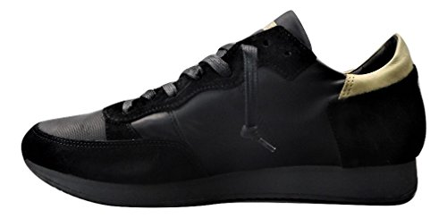 Model Baskets Philippe Noir Pour Homme 4dwdxSX