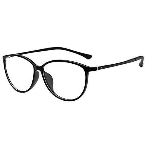 Meijunter Ultralight TR90 Cat Eye Finished Glasses Myopia Nearsighted - Round Eyeglasses Perfectly