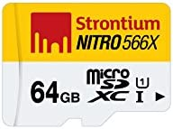 Strontium Nitro 64GB 85MB/s UHS-1 Class 10 MicroSDXC Memory Card (SRN64GTFU1R)