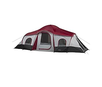Ozark Trail 10 Person Tent 3 Rooms 20 X 10  sc 1 st  Amazon.com & Amazon.com : Ozark Trail 10 Person Tent 3 Rooms 20 X 10 : Family ...
