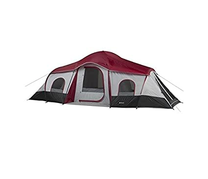 2ffac8a681 Amazon.com : Ozark Trail 10 Person Tent 3 Rooms 20 X 10 : Family Tents :  Sports & Outdoors