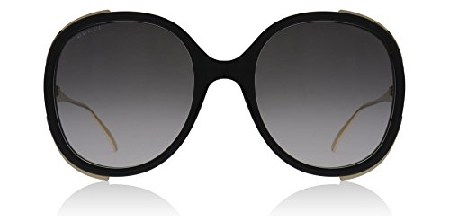 Gucci GG0226S 001 Black / Gold GG0226S Butterfly Sunglasses Lens Category 2 - Gucci With Butterfly Sunglasses
