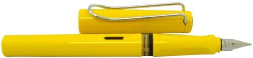 LAMY Safari Fountain Pen, Yellow Broad Nib (L18B)