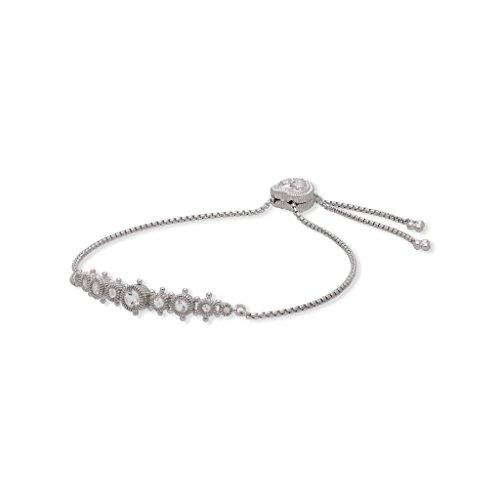 JUDITH RIPKA Santorini White Topaz Friendship Bracelet by Judith Ripka (Image #2)