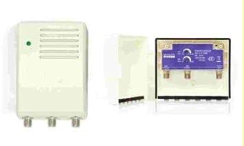 Amplificador de mastil TDT + alimentador ROVER 30 dB LTE con ...