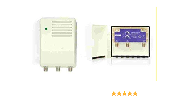 Amplificador de mastil TDT + alimentador ROVER 30 dB LTE ...