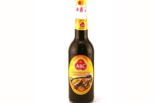 ABC Medium Sweet Soy Sauce, 21 Fluid Ounce