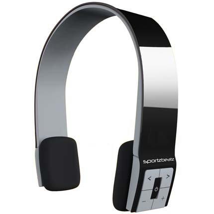 Sportz Beatz Halo Wireless Bluetooth On-Ear Headphone with Talk Pad SB004BLK