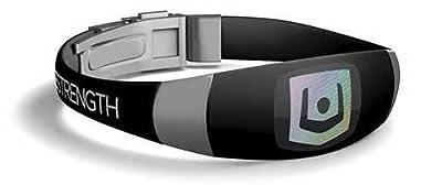 Lifestrength Wristband Elite Black/Stainless