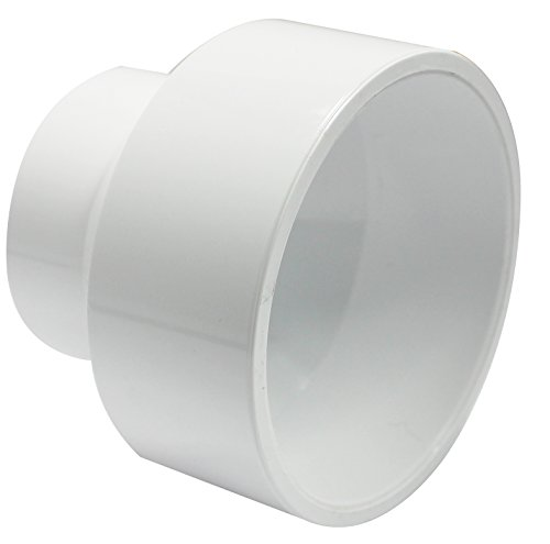 Pvc Reducer (Canplas 193024 PVC DWV Reducing Coupling, 3 x 2-Inch, White)