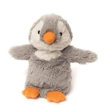 Baby Grey Penguin - WARMIES Cozy Plush Heatable Lavender Scented Stuffed Animal: Home & Kitchen