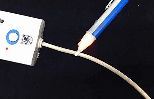 Waymeduo AC Voltage Tester Voltage Detector Blue Upgraded Version Alert Pen Non-Contact LED Display 90V-1000V 1x Blue Upgrade 20.2 x 9.2 x 2.4 cm