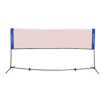- 4.1M/5.1M Portable Sports Badminton Volleyball Tennis Net Set Foldable Frame Stand - Team Sport Badminton - (L) - 1 x Golf trolley