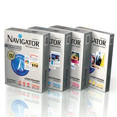Npl1132 Platinum Office Paper - NAVIGATOR NPL1132 Platinum Paper, 32-lb, 8-1/2 x 11, Bright White, 250 Sheets/Rm, 8 Rms/Ct
