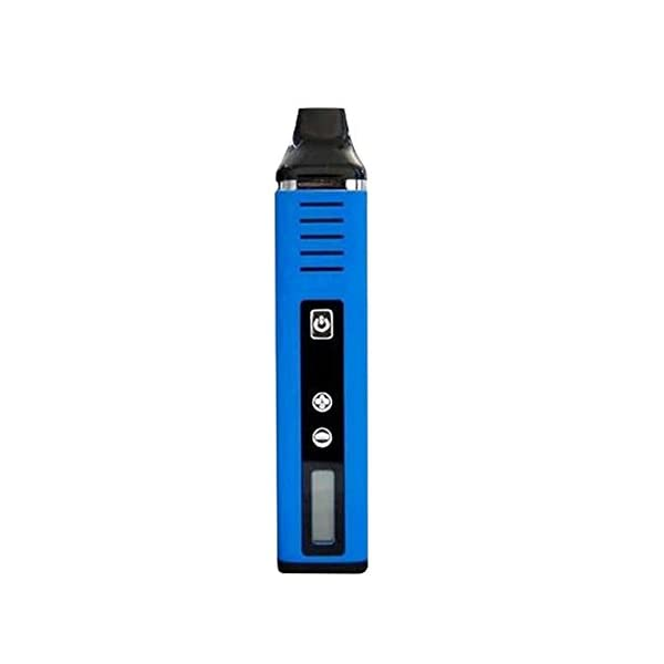 Pathfinder V2 Dry Herb Vaporizer by DopeVapes, 1800mAh Battery, Large 1g Chamber, LCD Screen, Advanced Variable Temperature Control (Blue)